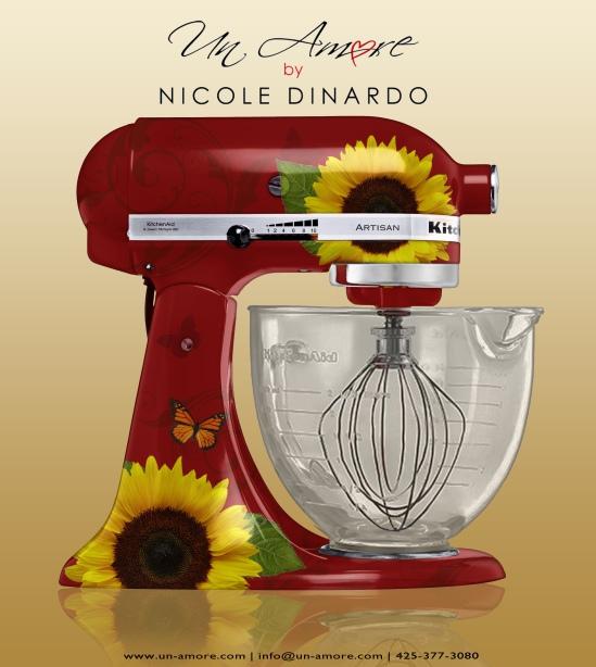 Pioneer Woman Kitchenaid Mixer Decals