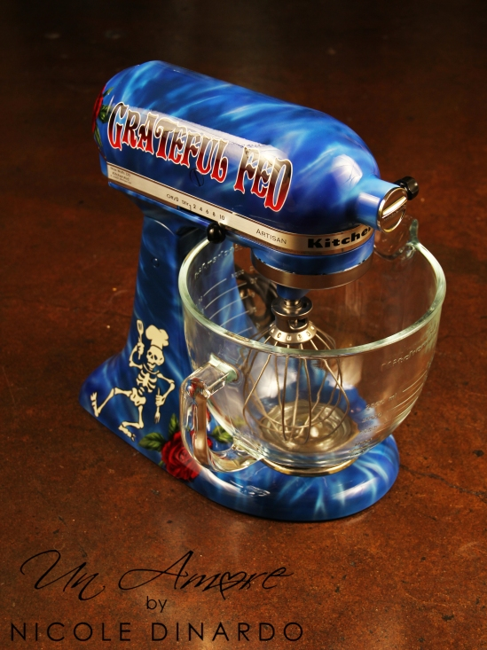 Tie Dye Kitchenaid Mixers Un Amore Custom Designs