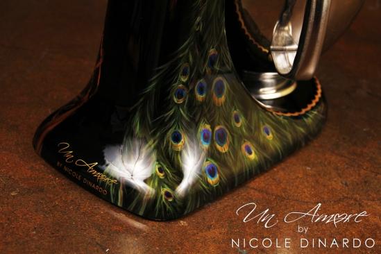 Peacock Themed Kitchenaid Mixer Un Amore Custom Designs