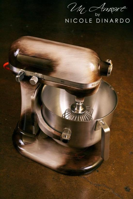 Custom Painted KitchenAid Mixers
