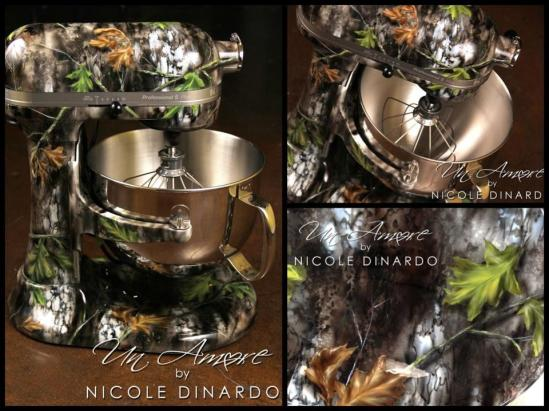 Kitchen Aid Mixers In Camo